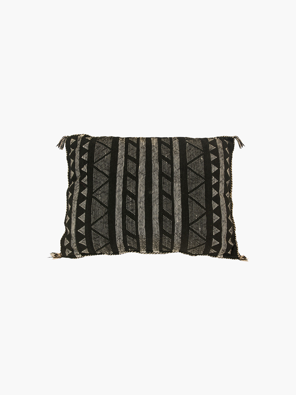 Sabra Moroccan Cushion | Black