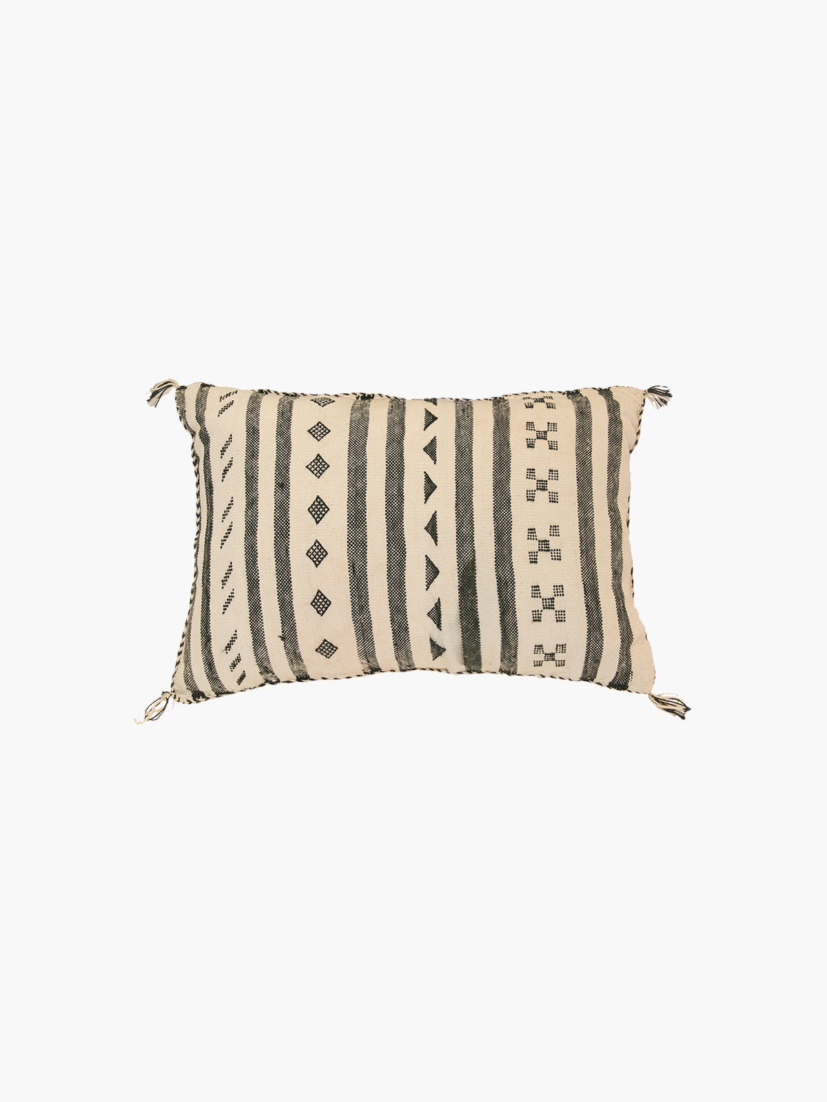 Sabra Moroccan Cushion | White
