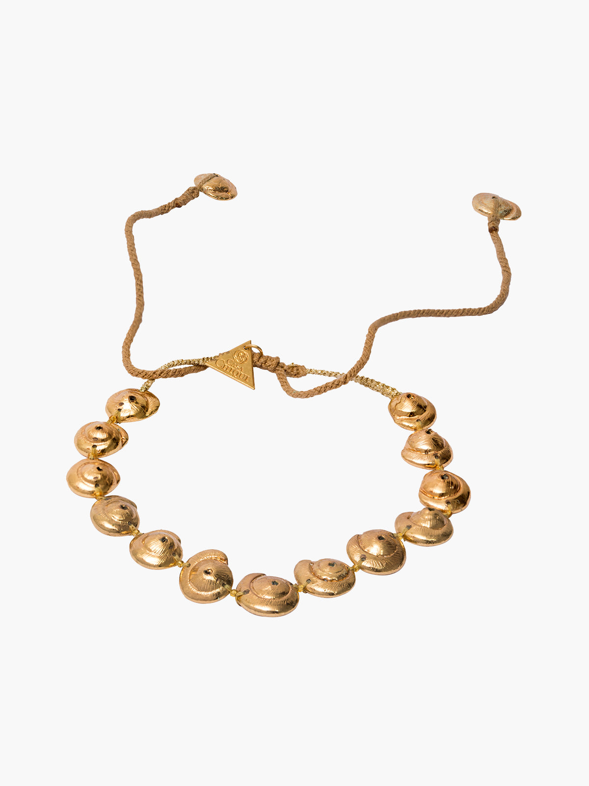Seashell Choker | Gold Seashell Choker | Gold