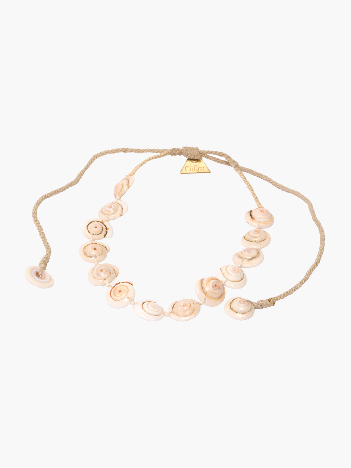 Seashell Choker | Natural Seashell Choker | Natural