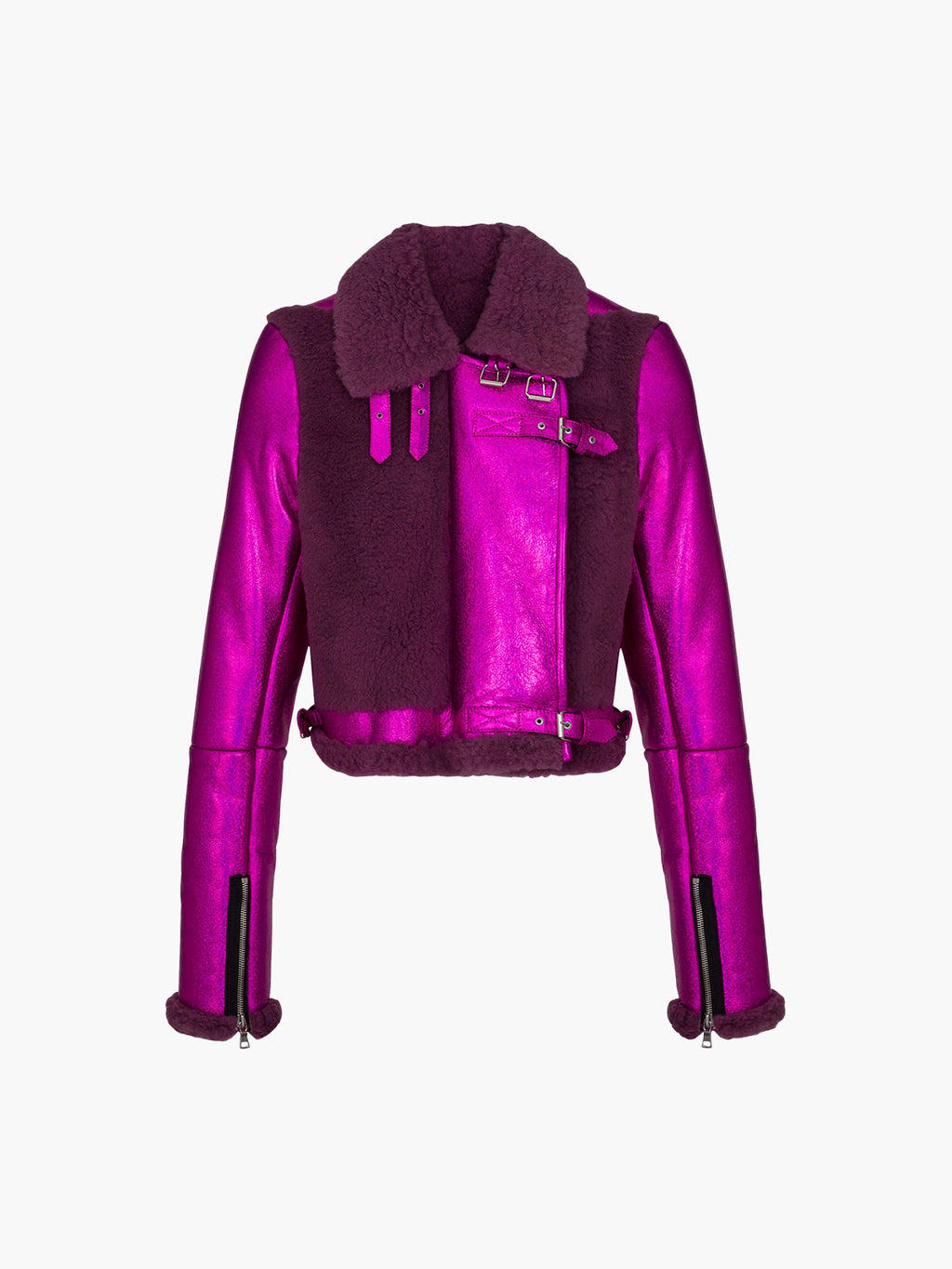 Alanis Jacket | Fuchsia Purple