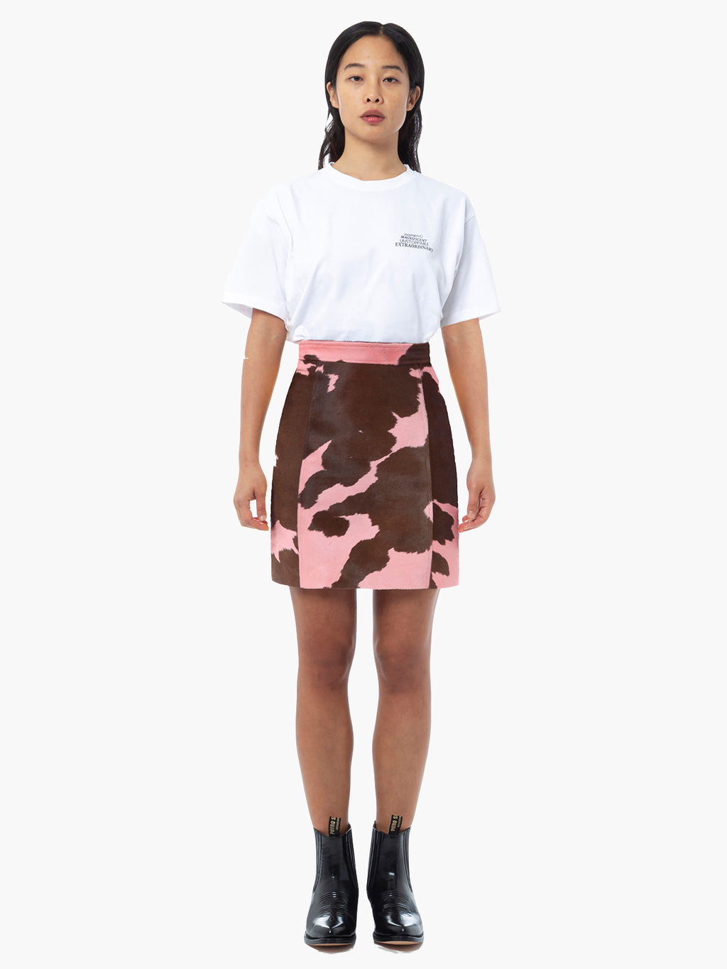 Eartha Skirt | Pink Brown