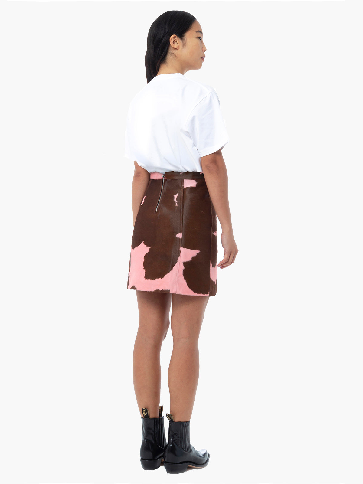 Eartha Skirt | Pink Brown Eartha Skirt | Pink Brown