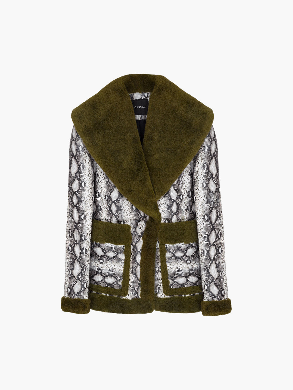 Floyd Jacket | Gray Green Bottle