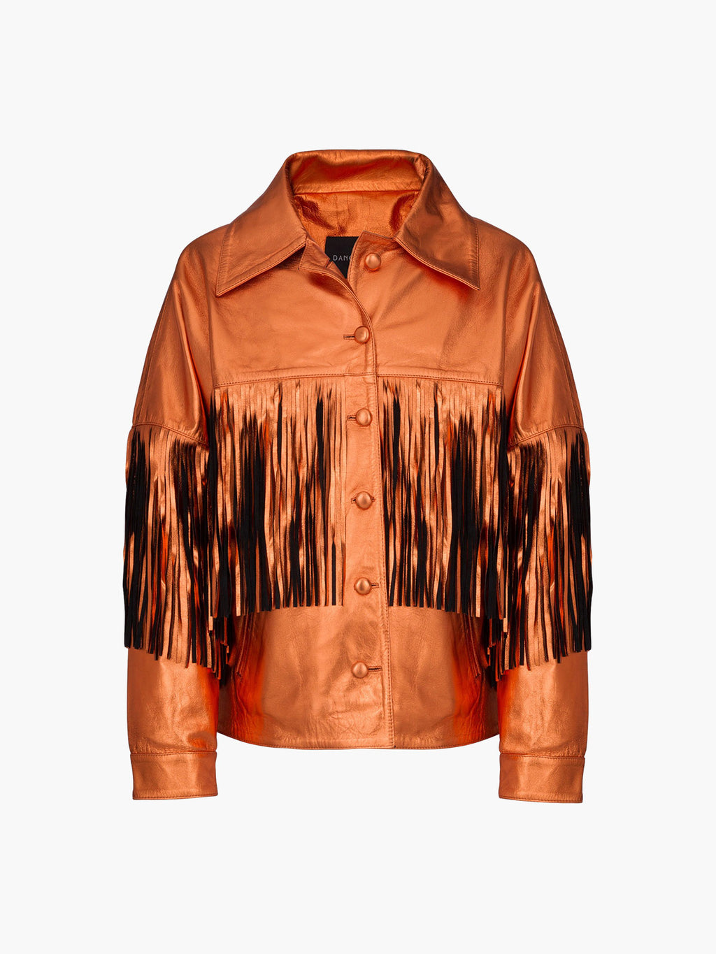 Taylor Jacket | Metallic Orange