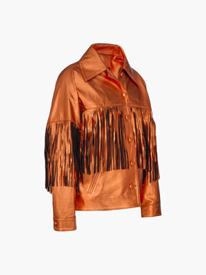 Taylor Jacket | Metallic Orange Taylor Jacket | Metallic Orange