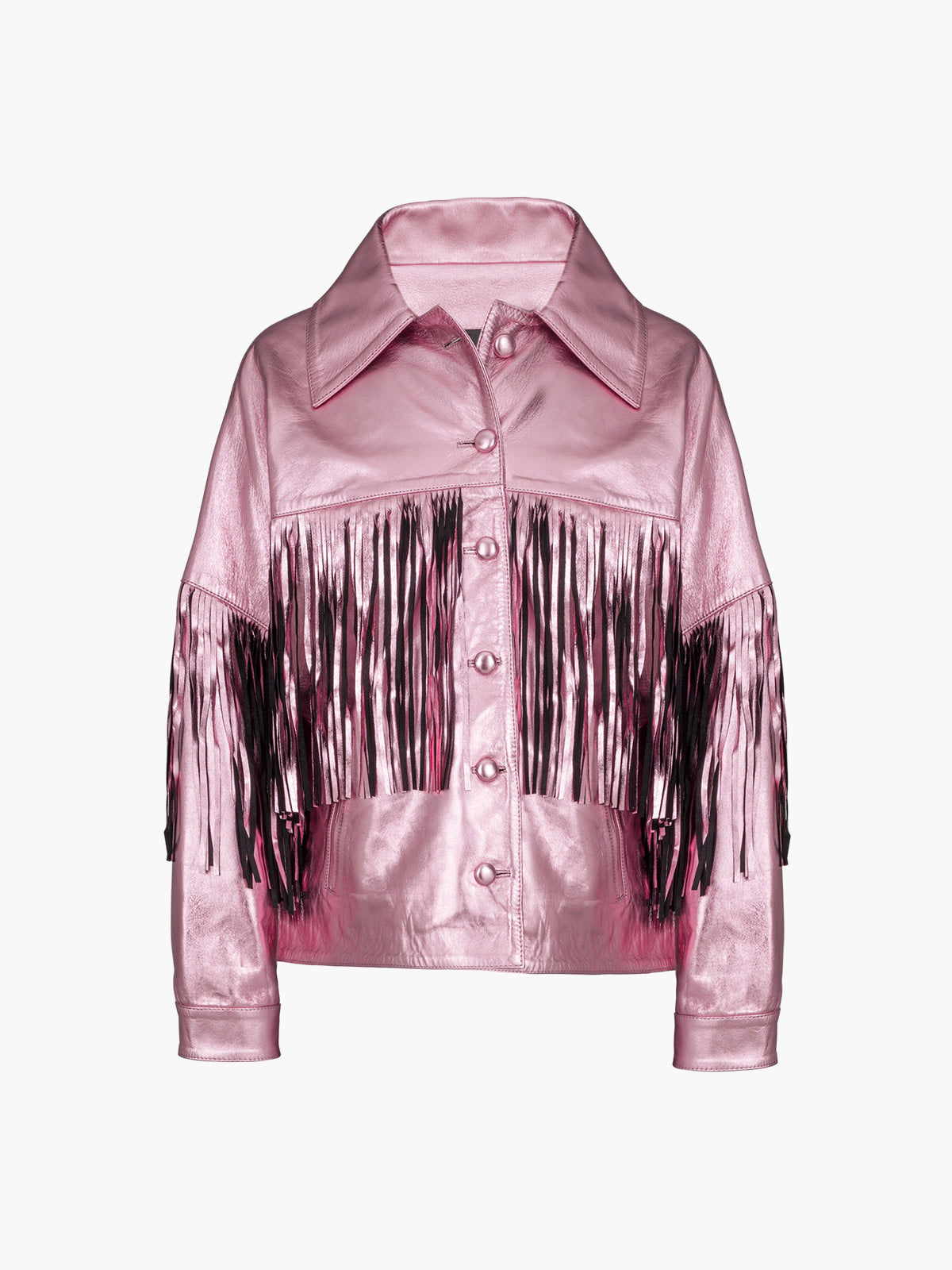 Taylor Jacket | Metallic Pink