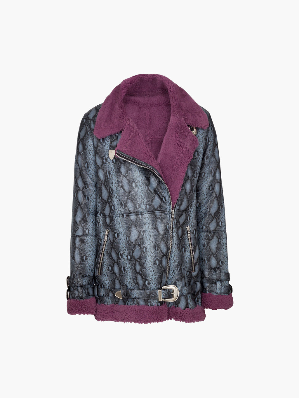 Wonder Jacket | Grey Purple