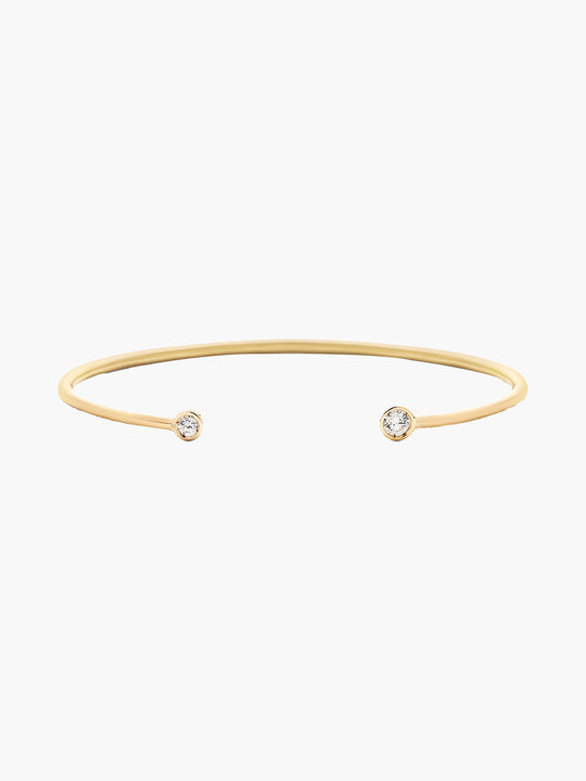 Double Diamond Open Cuff | Matte