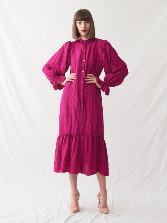 Arafura Dress | Fuschia