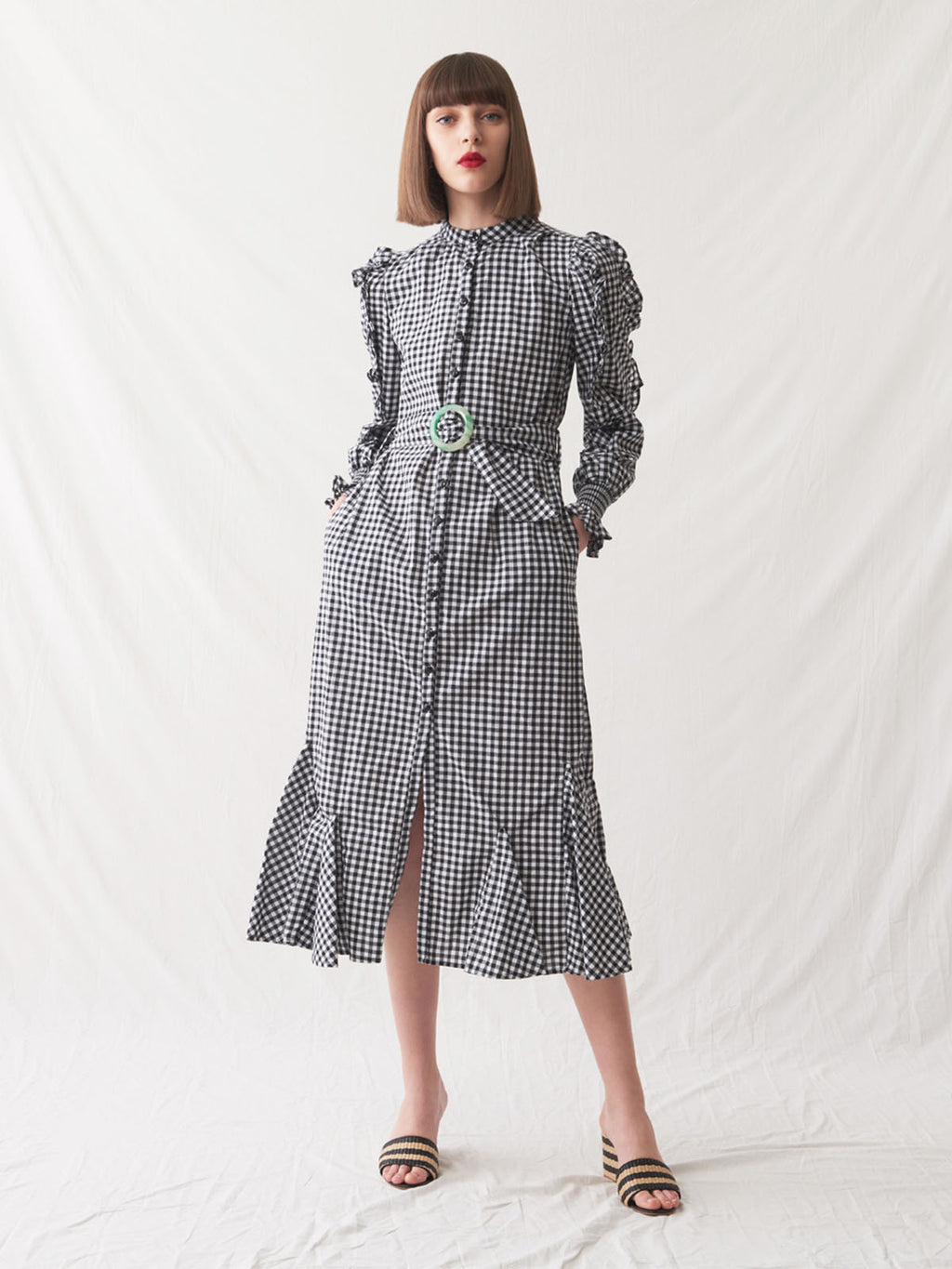 Celebes Dress | Gingham