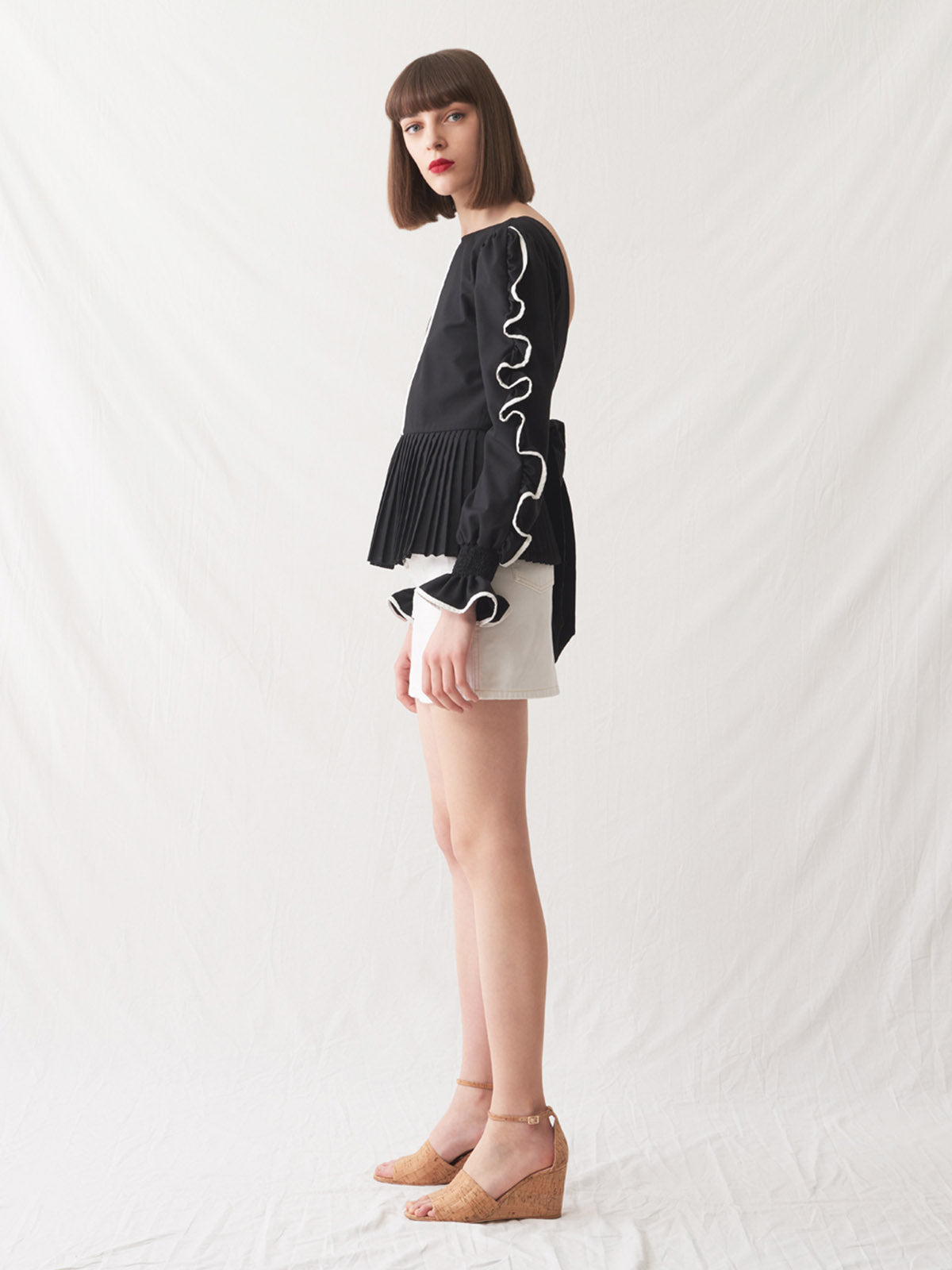 Marmara Blouse | Black/White Marmara Blouse | Black/White