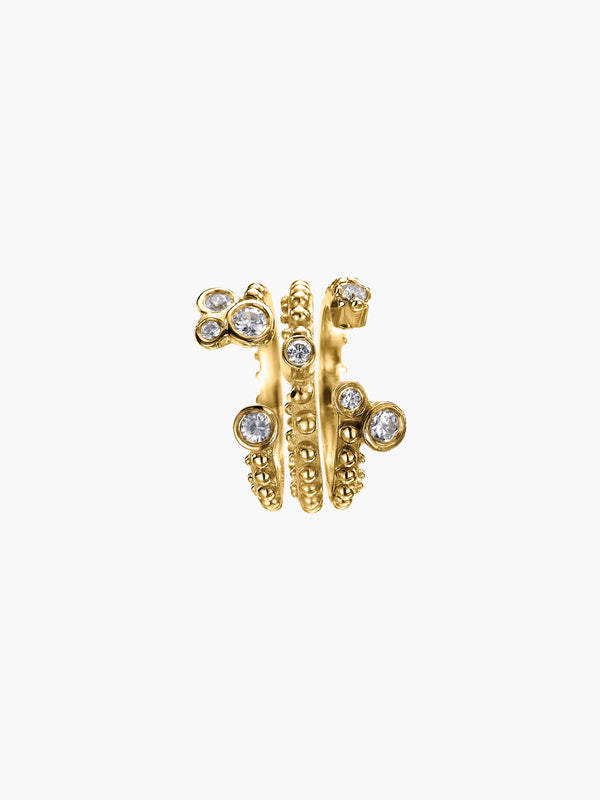 Boheme Lea + Crowns Diamond Rings Set Boheme Lea + Crowns Diamond Rings Set