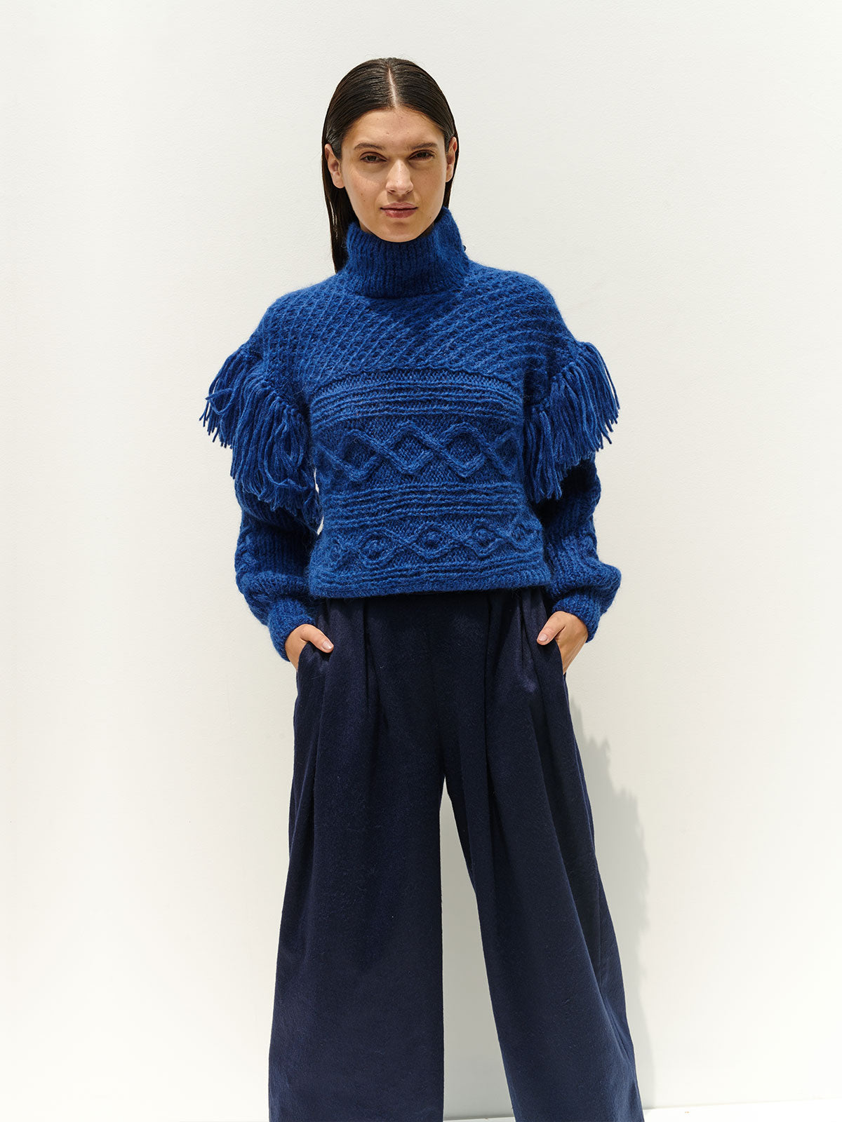 Clo Sweater | Electric Blue