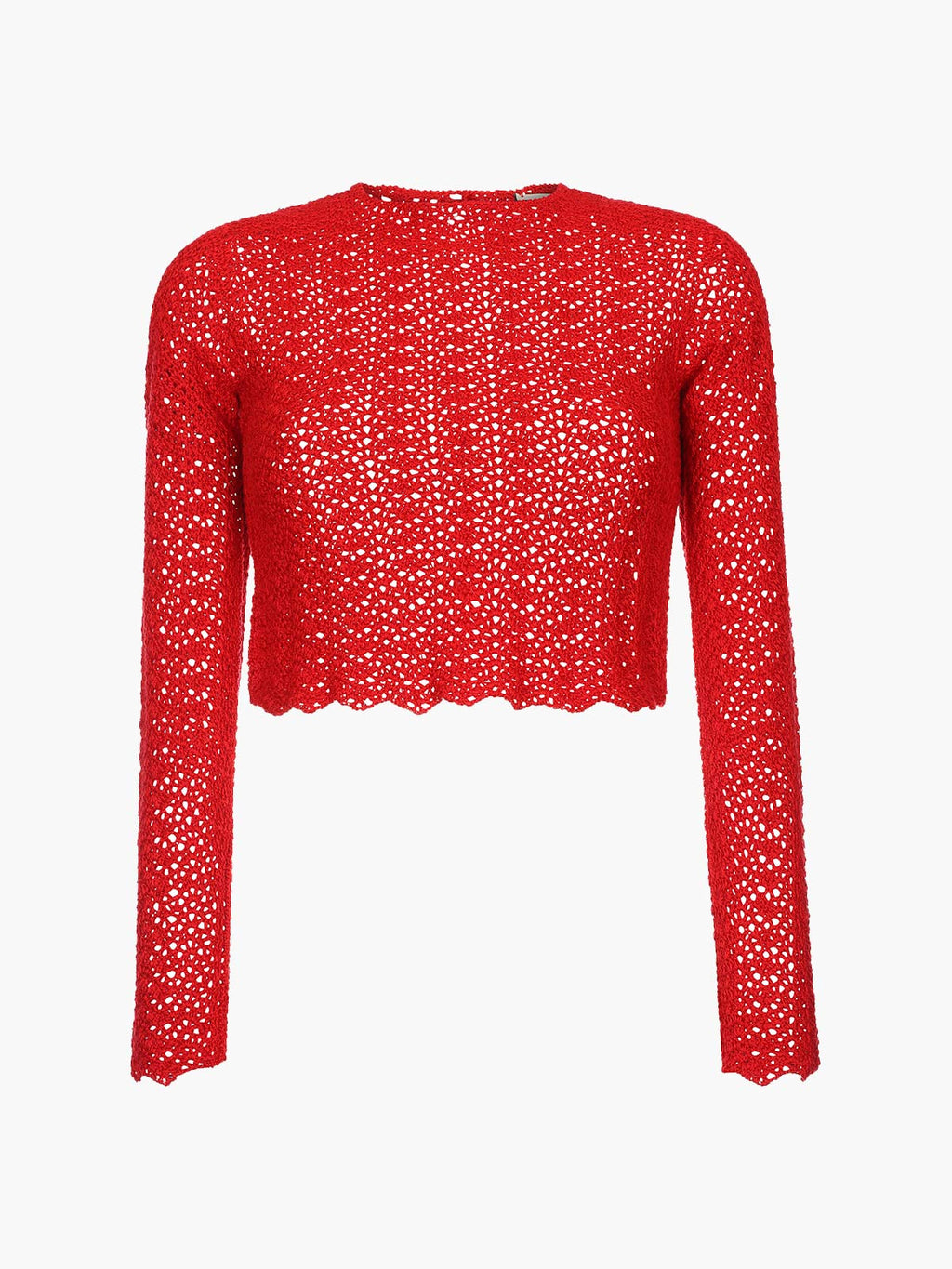 Mawi Crochet Top | Red
