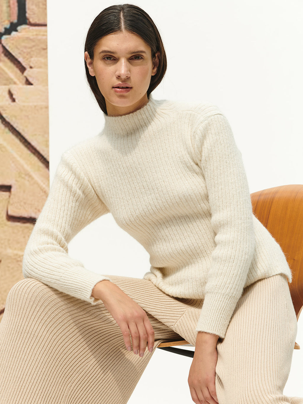 Melania Sweater | Ivory