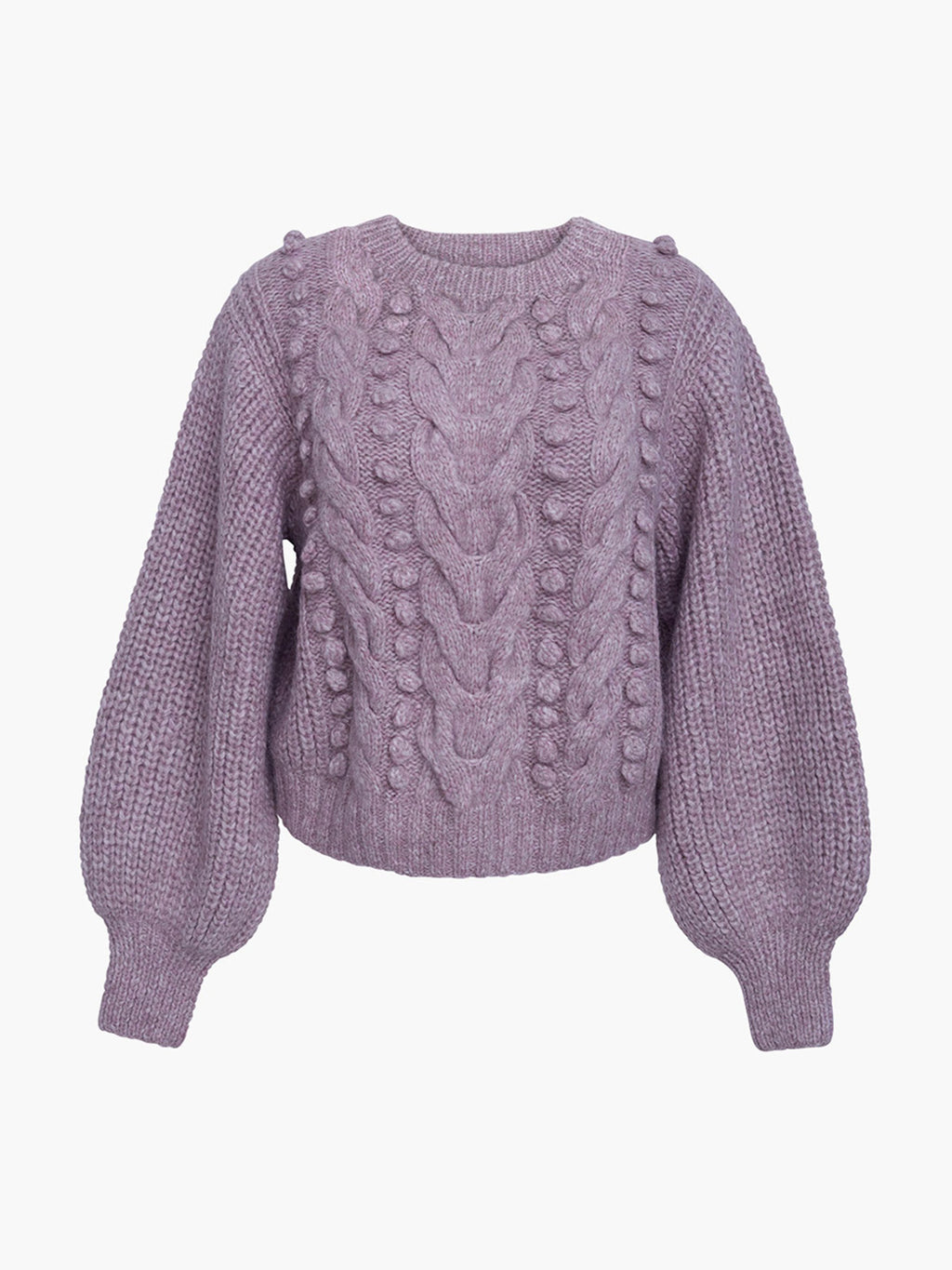 Charlotte Sweater | Pink Heather