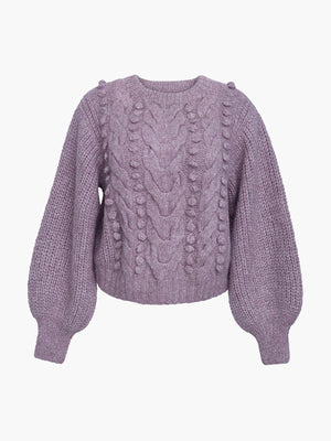 Charlotte Sweater | Pink Heather Charlotte Sweater | Pink Heather