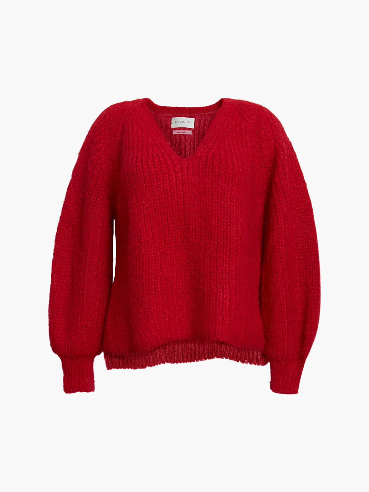 Tess Sweater | Persimmon Red Tess Sweater | Persimmon Red