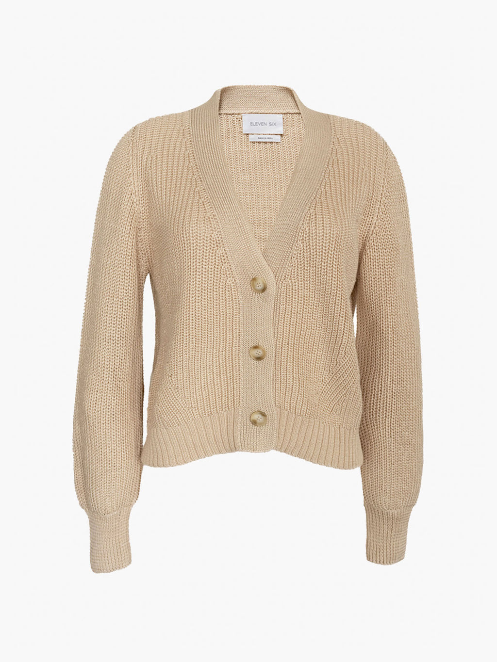 Isla Cardi Sweater | Wheat