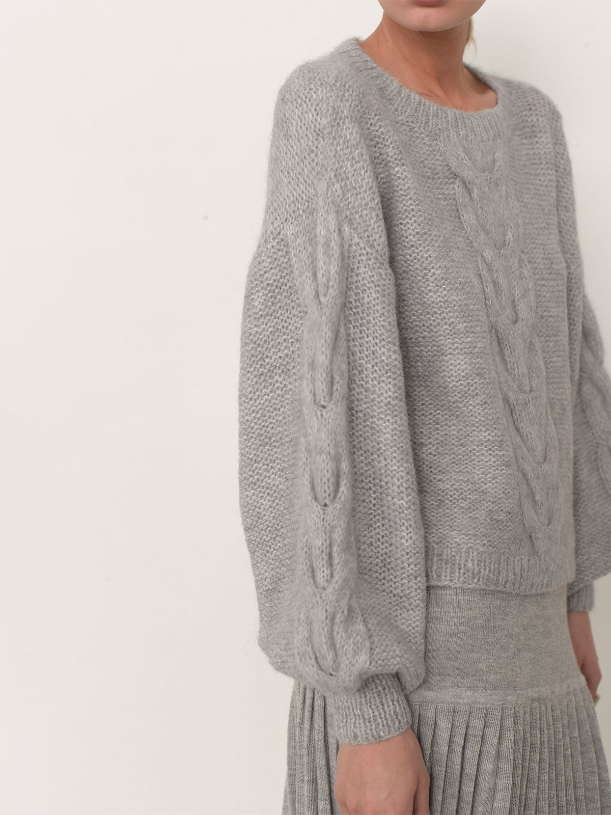 Sophia Sweater | Pale Grey