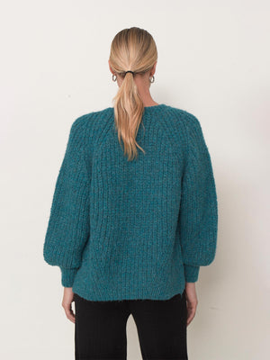 Tess Sweater | Teal Tess Sweater | Teal