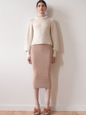 Ava Skirt | Pale Camel Ava Skirt | Pale Camel