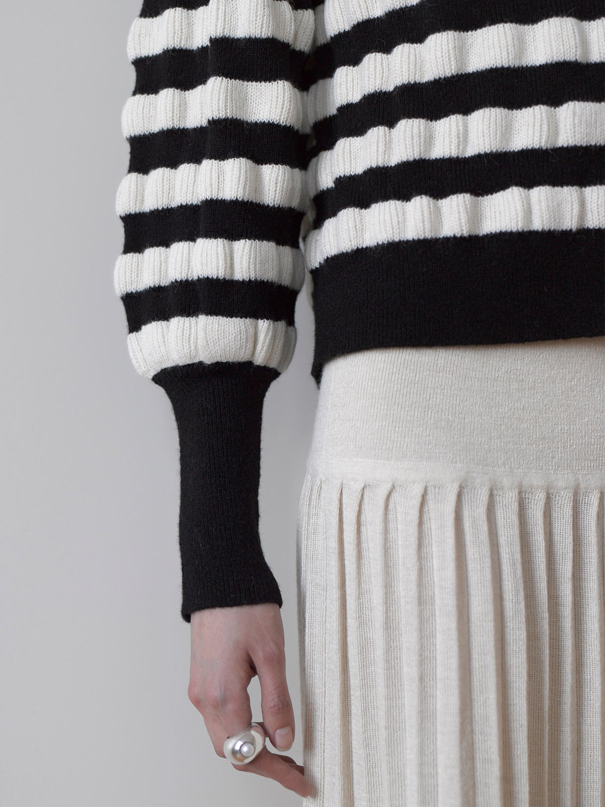 Aimee Sweater | Striped Aimee Sweater | Striped