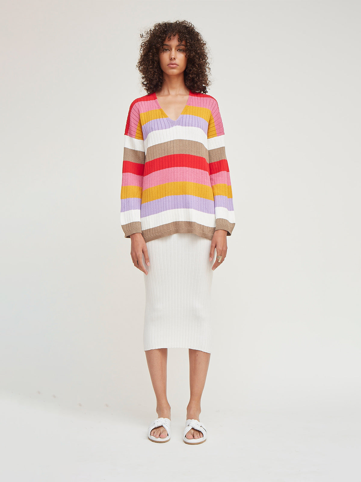Cara Stripe Sweater