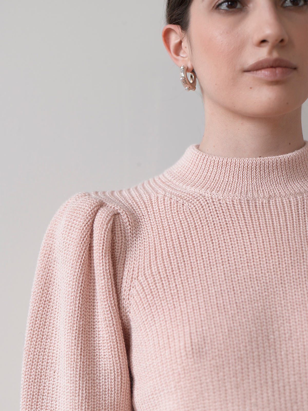 Mia Sweater | Blush Pink