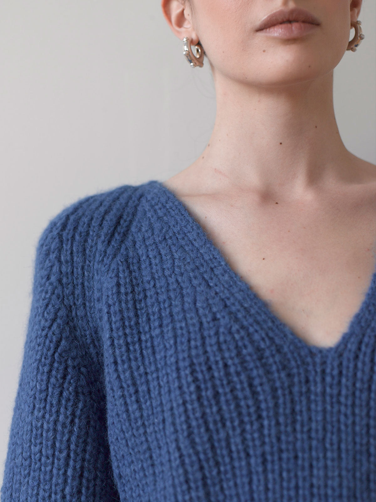 Tess Sweater | Azul Blue Tess Sweater | Azul Blue
