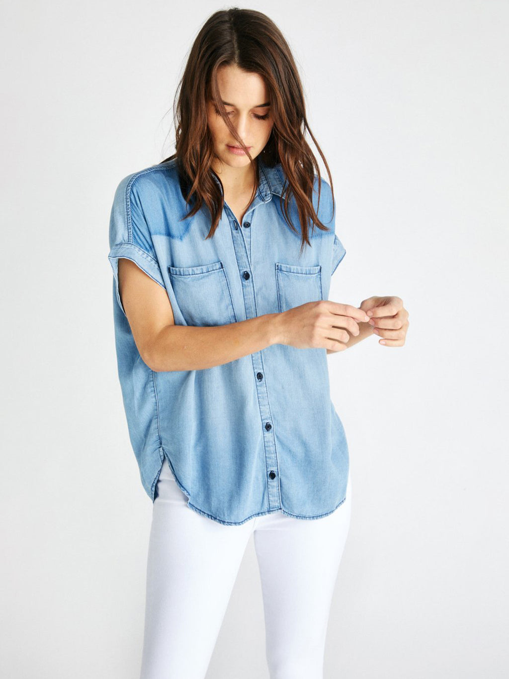 Ash Chambray Short Sleeve Shirt
