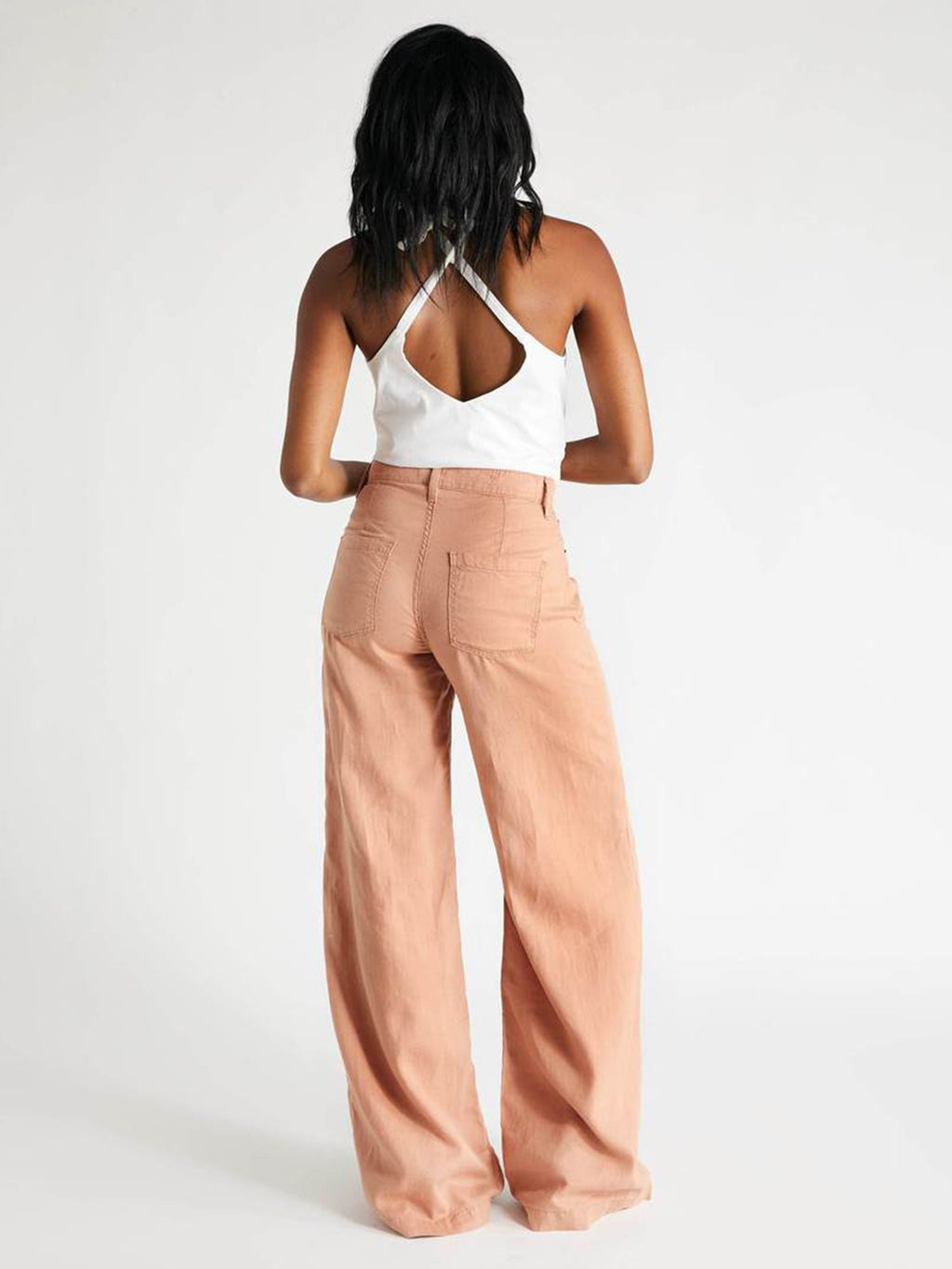 Devon Wide Leg | Coffee