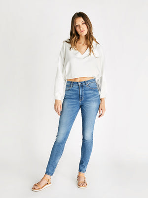 Giselle Skinny Ankle Jean - Emerald Pool Giselle Skinny Ankle Jean - Emerald Pool