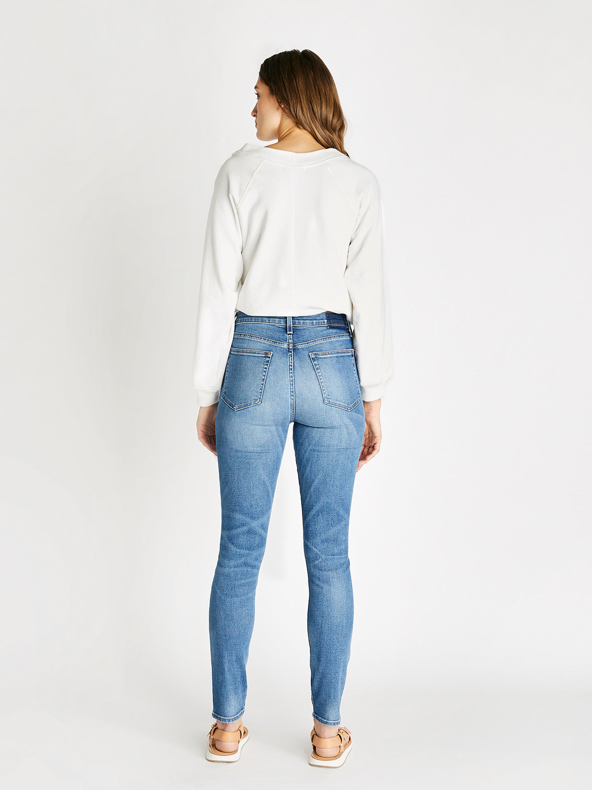 Giselle Skinny Ankle Jean - Emerald Pool