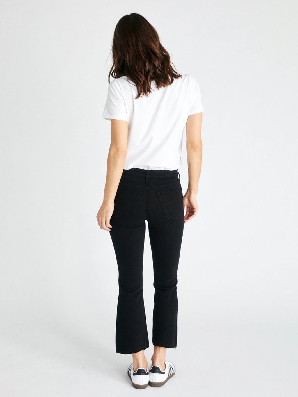 Micki Denim Crop | Black Dawn