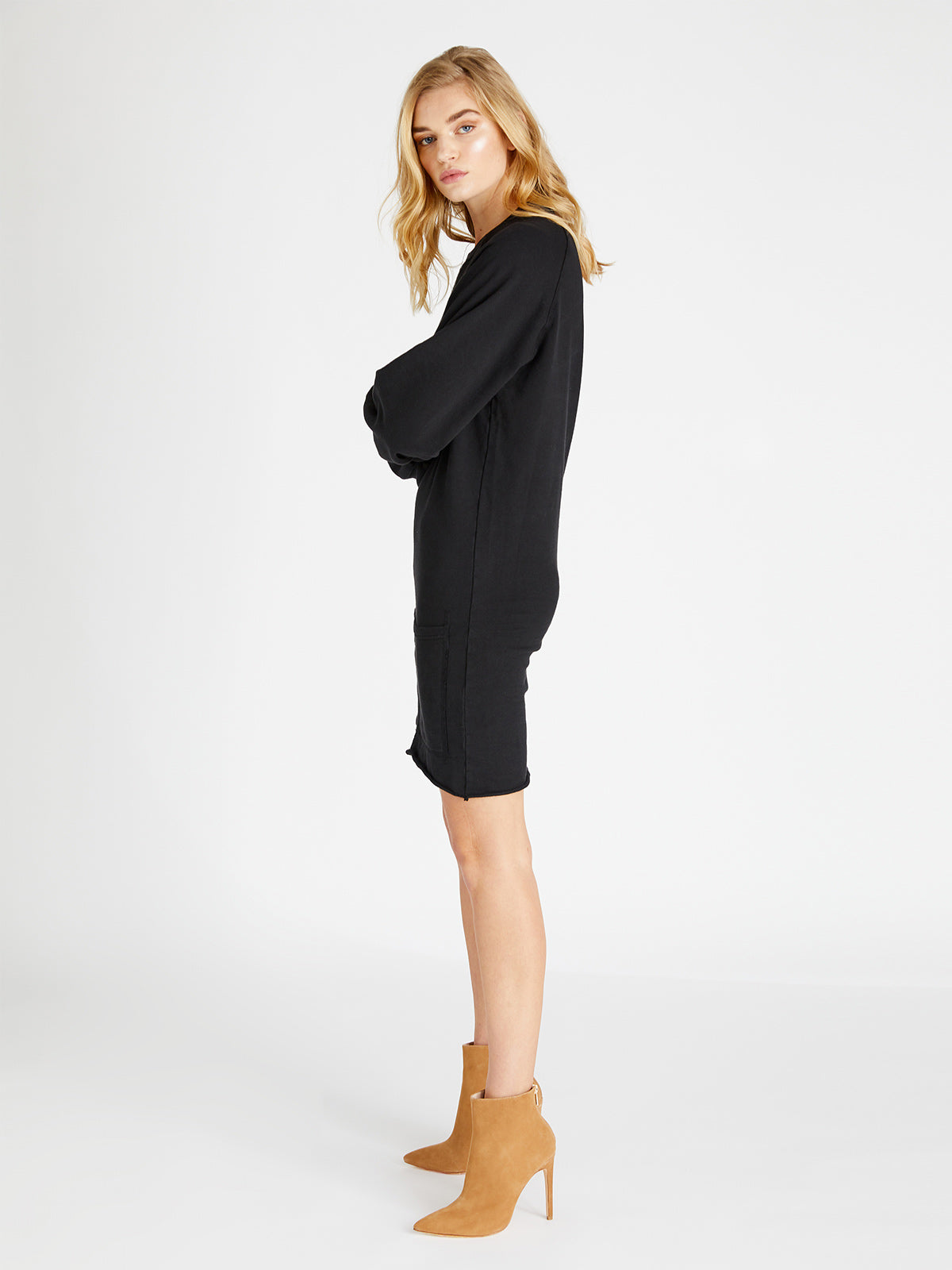 Winona French Terry Dress