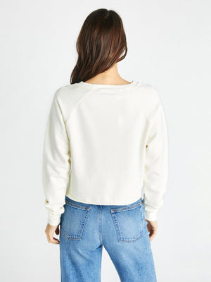 Yara French Terry Sweatshirt | Cream Yara French Terry Sweatshirt | Cream