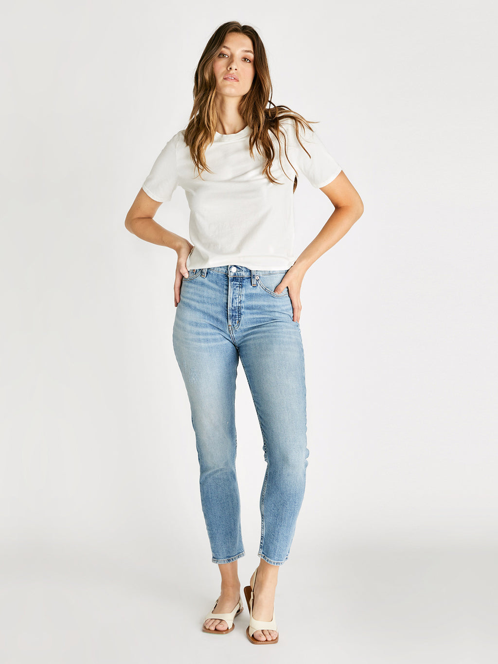Alex High Rise Skinny Jean | Vintage Light