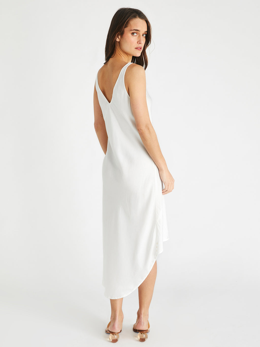 Shanti Slip Dress | Natural