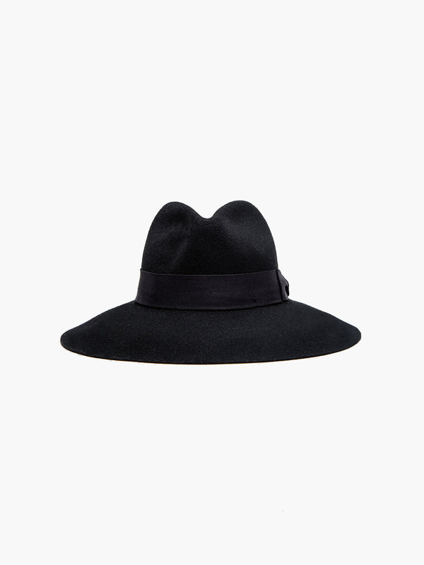Felt Shade Hat | Black Felt Shade Hat | Black
