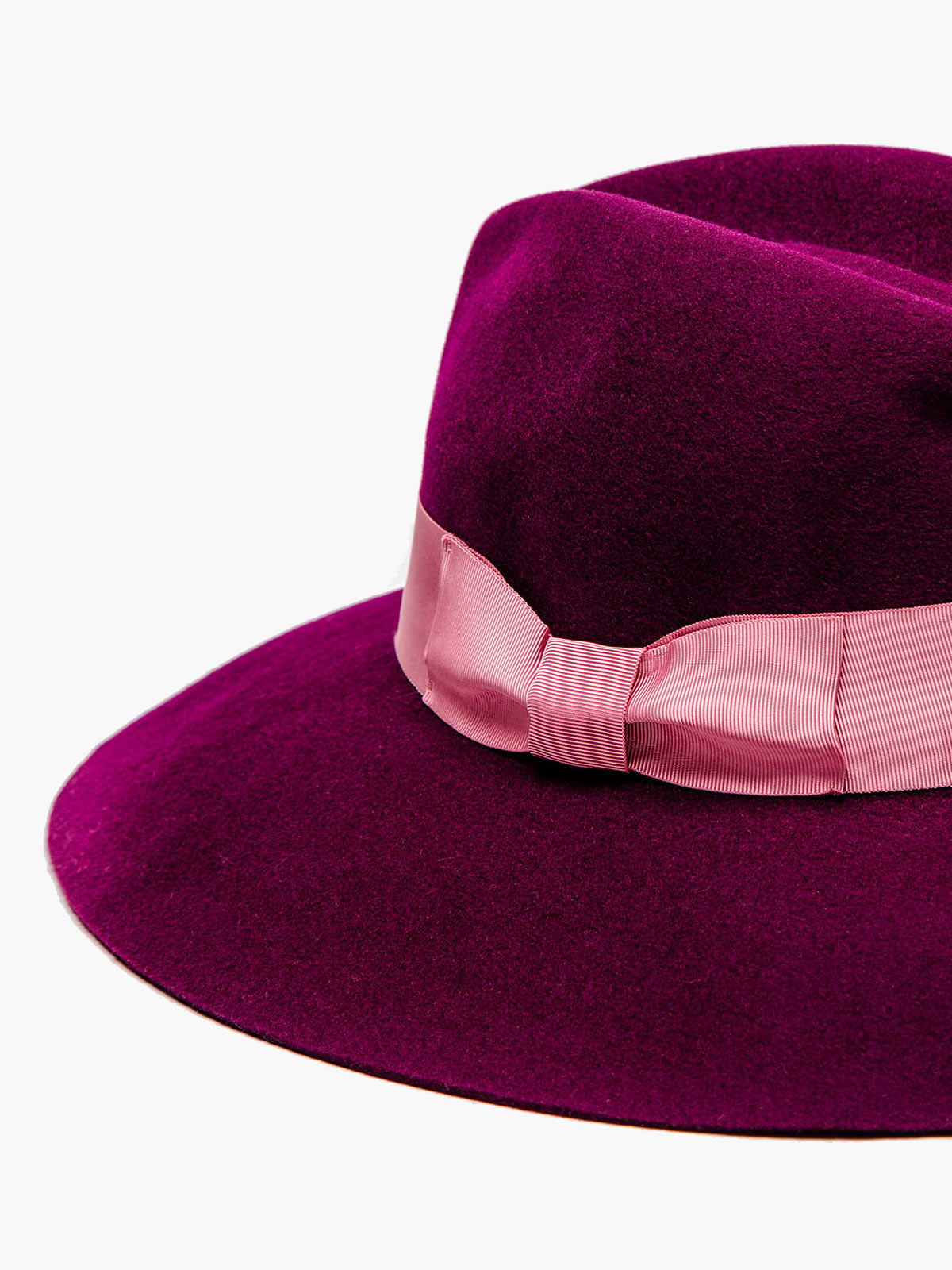 Felt Shade Hat | Plum Felt Shade Hat | Plum