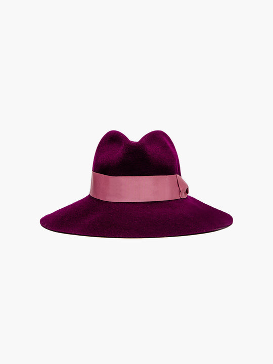 Felt Shade Hat | Plum