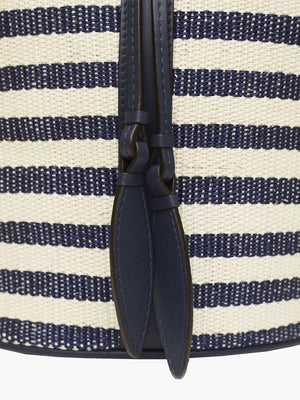 Extra Large Drawstring Bag | Navy Stripe Extra Large Drawstring Bag | Navy Stripe