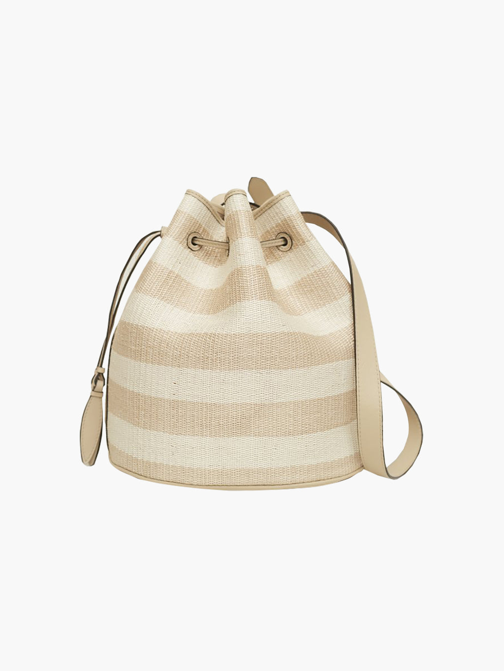 Extra Large Drawstring Bag | Oyster Stripe