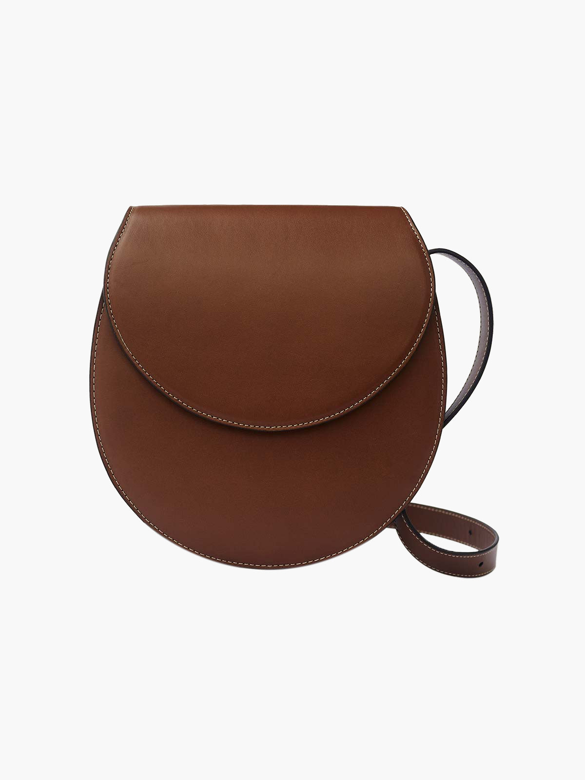 Large Saddle Bag | Cognac