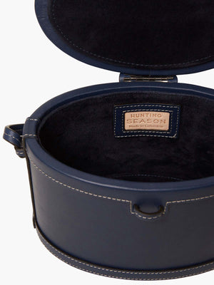 Round Trunk Bag | Navy Round Trunk Bag | Navy
