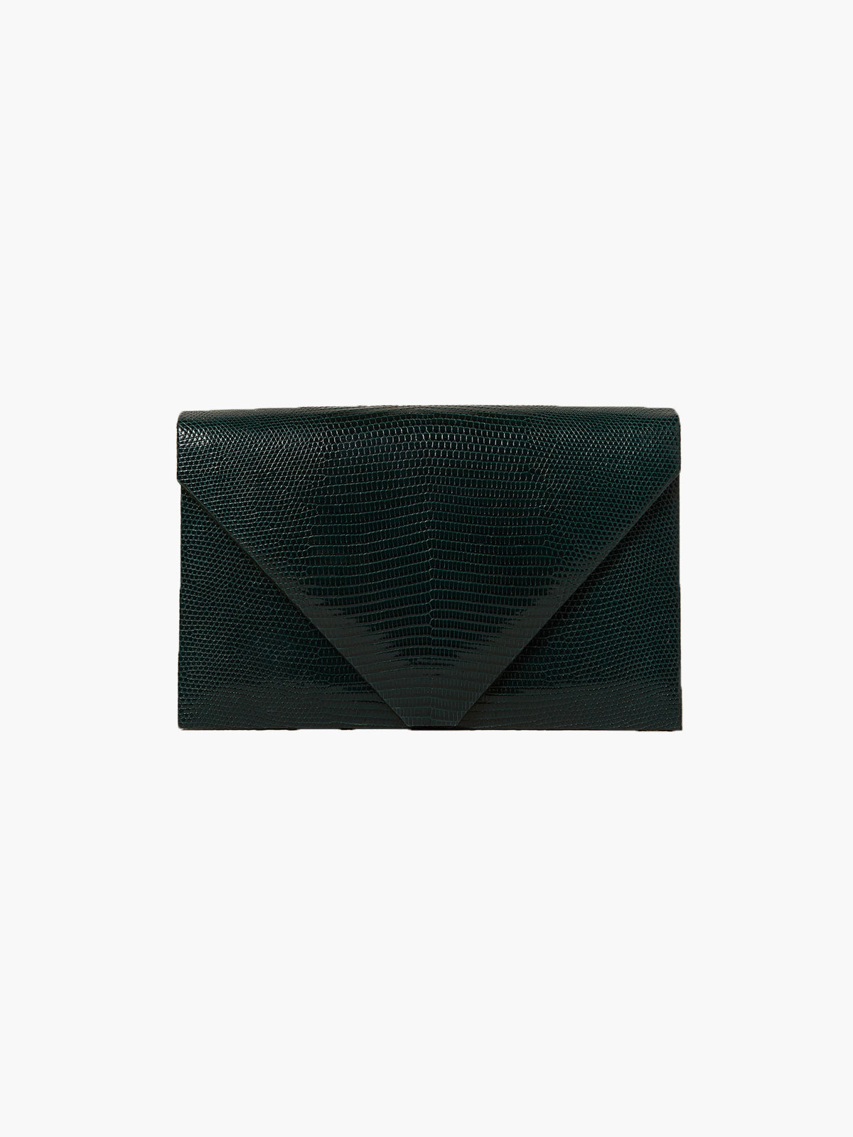 The Envelope Clutch | Emerald