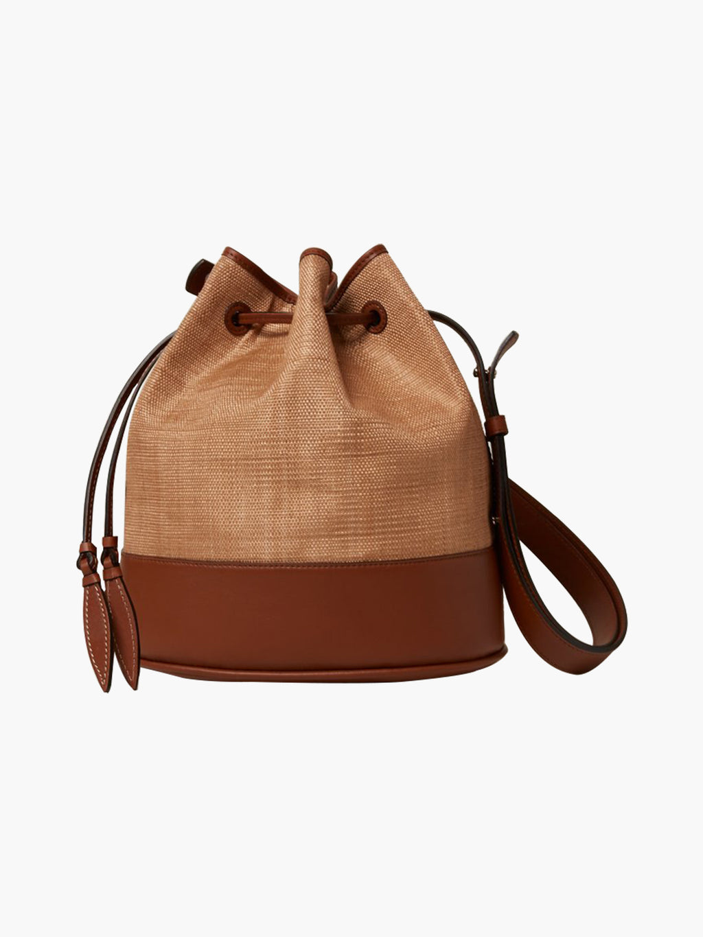 Large Drawstring | Banana Leaf Cognac