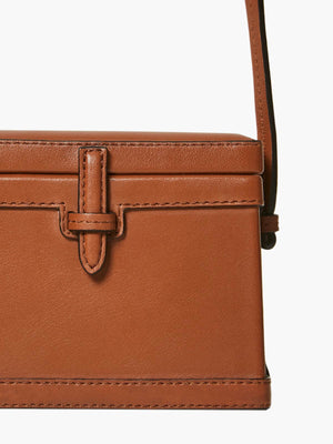 Mini Square Trunk | Cognac Mini Square Trunk | Cognac